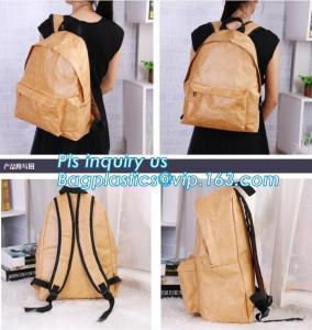 China Tyvek Material Anti Theft Travel Sequin School Girls Ladies Women Foldable Backpack Bag Waterproof,Tyvek paper tote bag, on sale