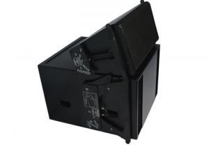 China Pro Line Array Nightclub Speaker System 30°Trapezoid Dark Grey Metal Grill on sale