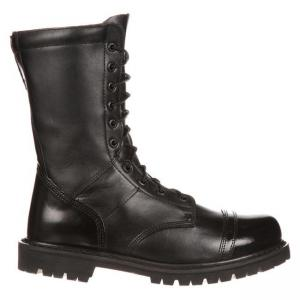 China CQB.SWAT Military Jungle Army Boot, 10 inches Jump Man boots leather with side YKK zipper on sale