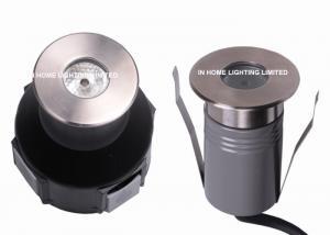 China Waterproof RGB LED Inground Pool Lights , 12V 3W Mini Underground Recessed Driveway Lights on sale