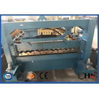 China PLC Controlled Precision Cold Roll Forming Machine For Roofing Tile Making on sale