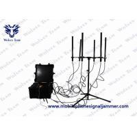 Portable Pelican Vehicle Jammer Convoy 10 Bands 820W 3G 4G WIFI GPS Blocker