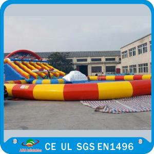 China Water Park 60 Large Inflatable Water Games For Pool , Beach , Inflatable Sea on sale