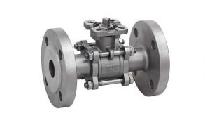 China Stainless Steel Flange Ball Valve Q41f , Hydraulic Low Pressure Ball Valves on sale
