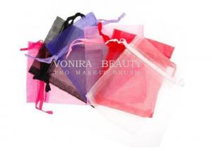 China Custom Mixed Color Organza Drawstring Bags Jewelry Party Wedding Favor Gift Bags on sale