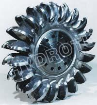 China Stainless Steel Pelton Turbine Runner with Cast or Forge CNC Machined For Pelton Water Turbine on sale
