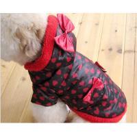 Autumn , Winter Cotton Mid-Size Medium Dog Clothes for Puppys Bichon Frise