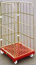 China good price metal stackable wheel trolley on sale