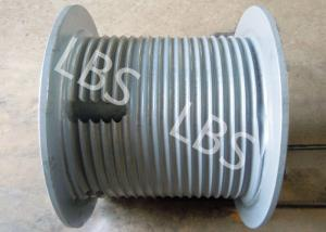 China Alloy Steel Lebus Grooved Drum For Oil Drilling Rig Capstan on sale