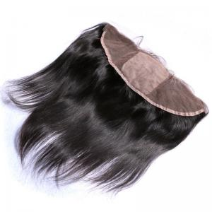 China Tight And Neat Indian Hair Lace Frontal 13x4 , Human Lace Front Wigs on sale