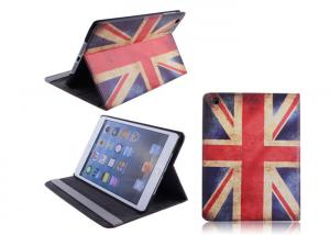 China Mini Retina Apple iPad Protective Case Leather With England Flag Design on sale