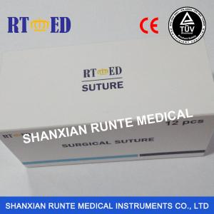 China New packing,CE&ISO Certified Braided SILK Suture,Sterile Disposable Surgical Medical Suture(Catgut/PGA/PGLA/PDO/Nylon) on sale