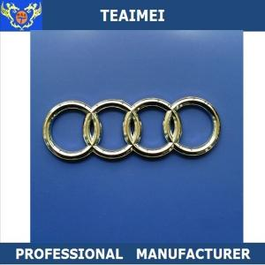 China Decorate Durable OEM Audi Body Car Badge Logos Long Use Life on sale