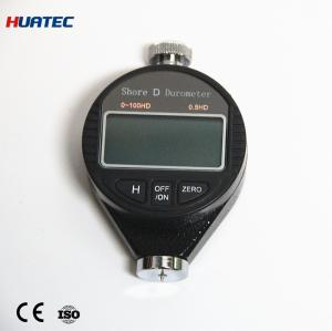 China 0 - 100hd Shore D Hardness Tester 90 X 55 X 25mm With Button Battery Power Supply on sale