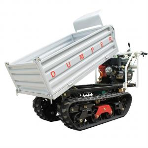 China mini crawler type truck dumper with gas engine 10HP on sale