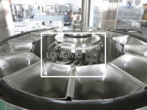 China Automatic washing powder filling machine capping machine labeling machine on sale on sale