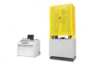 China Steel Hydraulic Tensile Testing Machine With High Precision Controller on sale