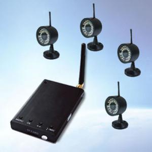 China Digital Audio Video Wireless Transmission Camera 2.4GHz 32GB TF Card on sale