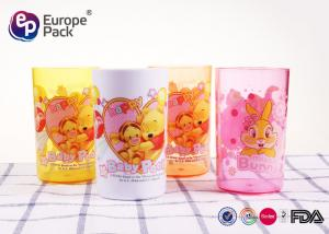 China 0.12 CBM Leak Proof Personalised Plastic Cups For Children Non Toxic on sale