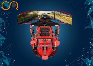 China VR Racing Simulator Three Screen 360 Degree Racing Car Dynamic Driving Equipment on sale