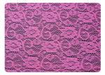 Tissu simplifié de dentelle de crochet, 65% Terylene + coton CY-CT8537 de 35%