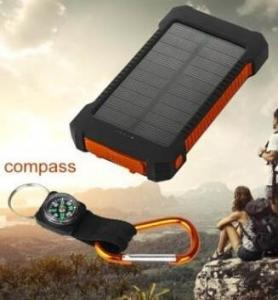 China solar power Accessories,Solar Power Bank Dual USB 20000mAh External Battery Portable on sale