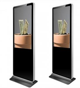 China Indoor Floor Stand Wifi Android LCD Advertising Display Digital Signage Player on sale