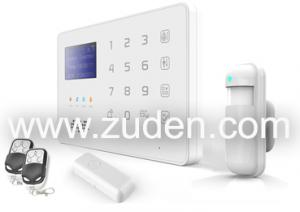 China Touch Keypad LCD GSM Alarm System with APP Control on sale