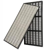 API Oil Vibrating Sieving Mesh For Solid Control 1165x585x40mm Size Shale Shaker Parts