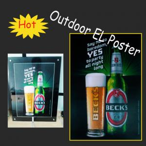 China Hot Selling El Poster/el advertising on sale