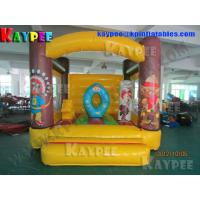 Inflatable Bouncer Castle Jungle Bouncer inflatable combo BO136
