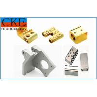 China CNC Turned Brass Machining Metal Parts , OEM Machinery Parts For Fittings on sale