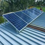 Galvanized Steel Solar Panel Roof Mounting System