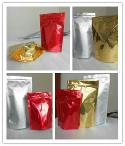 China 100% Recycled Shiny Printing Zipper Snack Bag Packaging Oxo - Biodegradable on sale