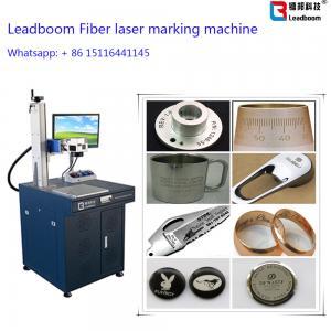 China Gold Fiber Laser Marker / Laser Engrave machine with 30W Fiber Laser Cutting Machine on sale