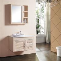 China 800*500mm Size Bathroom Sinks And Vanities Aluminum Alloy Material With Mirror Cabinet on sale
