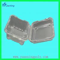 China cubierta plástica de la caja del acondicionamiento de los alimentos on sale