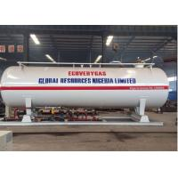 Q345R Q370R Carbon Steel LPG Gas Filling Station 20CBM 10MT 20000 Liters