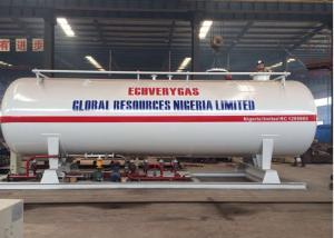 China Q345R Q370R Carbon Steel LPG Gas Filling Station 20CBM 10MT 20000 Liters on sale