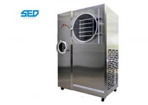 China Lab Use Mini Freeze Dry Machine / Vacuum Freeze Dryer With Small Production Capacity on sale