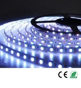 China 12V 24V 5050 300 leds 60 leds/m flexible led strip RGB with remote controller power supply on sale