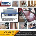 TM2480 MDF furniture automatic vacuum pvc membrane press machine