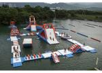 China Commercial Inflatable Water Parks For Amusement Resort Flame Resistance wholesale