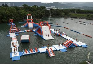 China Commercial Inflatable Water Parks For Amusement Resort Flame Resistance on sale