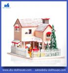 sweet house diy large room box miniature house D001