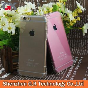 China TPU Phone Case for Apple iPhone 6S, mobile cases and covers, air cushion case on sale