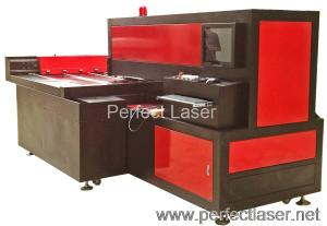 China Auto Die Board Laser Cutting Machine , Board Plate Bending for Packing Wood on sale