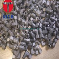 China Carbon Steel Tube Machining Thread Elbow Connector TCT06-02R For Oiled Tubes on sale
