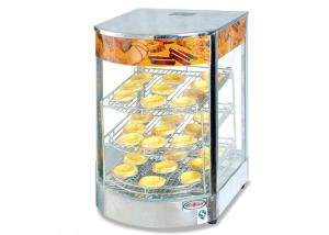China 850W 220V Electric Hot Food Warmer Showcase, Countertop Pizza Warmer Display Cabinet supplier