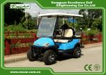 Powerful Four Person Electric Hunting Carts , Beach Utility Golf Cart